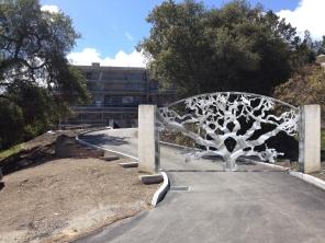 O. Gabbert - Los Altos Tree Gate Composite