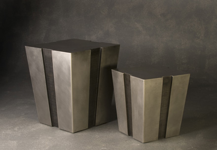 Stainless Steel Notched Tables - A. Held
