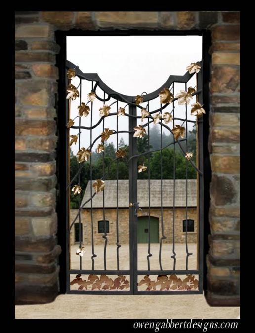 O. Gabbert - Winery Gate