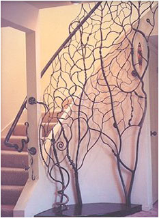 B. Tedrick - Staircase Railing
